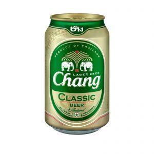 Chang Chang bier 5% ALC. (330ml) (泰象啤酒)