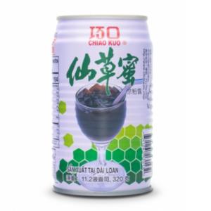 Chiao Kuo Grass jelly drink (巧口 仙草蜜)