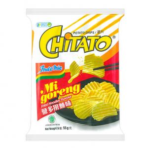 Chitato Aardappel chips mi goreng gebakken noedelsmaak
