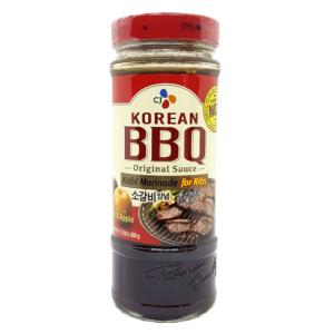 CJ Foods Korean BBQ kalbi marinade for ribs