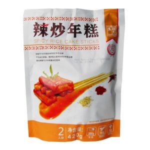 Chang Li Sheng Topokki rijstcake reepjes met pikante saus