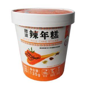 Chang Li Sheng Pikante topokki rijstcake reepjes in cup
