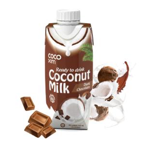 Coco Xim Coconut milk drink with dark chocolate flavour