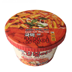Cook-Tok Instant tteokbokki Koreaanse rijstcake