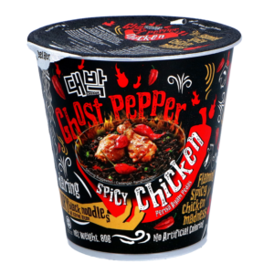 Daebak Cup noodle ghost pepper spicy chicken flavour
