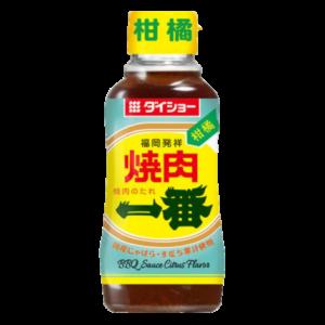 Daisho BBQ sauce with citrus flavor (番 经典烤肉酱 柠檬口味)