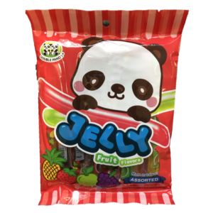 Double Panda Fruit jelly straws