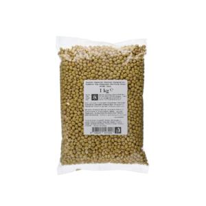 Gedroogde gele sojabonen