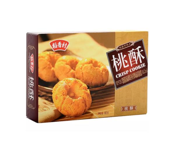 Dao Xiang Cun  Crisp cake (稻香村 桃酥)