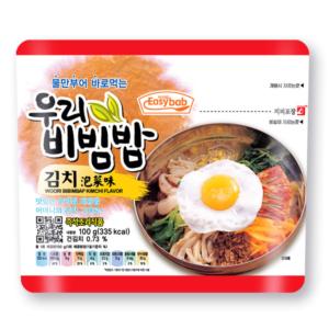 Easybab Woori bibimbap kimchi flavor