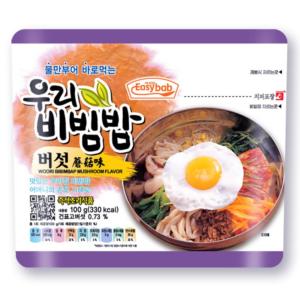 Easybab Woori bibimbap mushroom flavor (우리 비빔밥버섯)