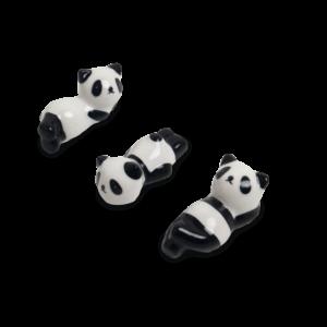 Eetstokjes legger 3 panda assortiment 5,5cm