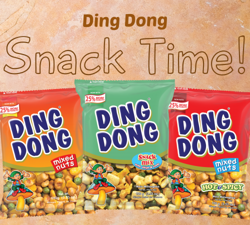 ding dong nuts banner