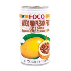 Foco Mango en passievrucht drank
