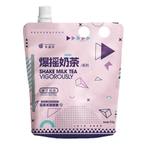 Fruit meet tea Ceylon milk tea (果遇茶 爆摇 锡兰奶茶)