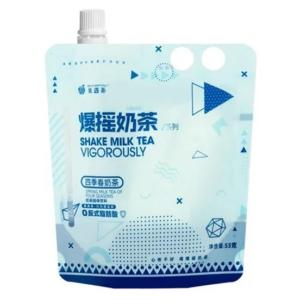 Fruit meet tea Spring milk tea of four seasons (果遇茶 爆摇奶茶 四季春奶茶)