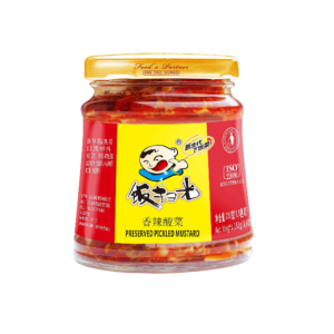 Fan Sao Guang  Spicy preserved pickled mustard - 饭扫光 香辣酸菜