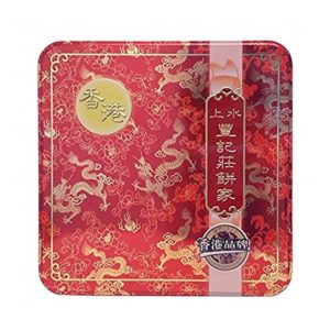 Fung Kee 豐記 雙黃白莲蓉月餅 mooncake witte lotuspasta met 2 eigeel