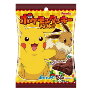 Furuta Pokemon chocolate cookies