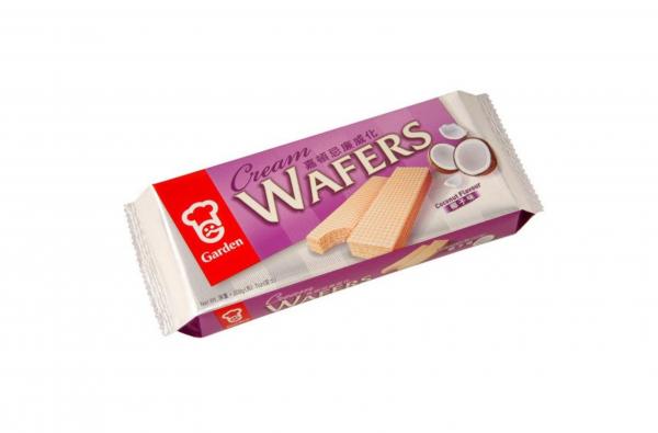 Garden Wafels met kokosnoot smaak