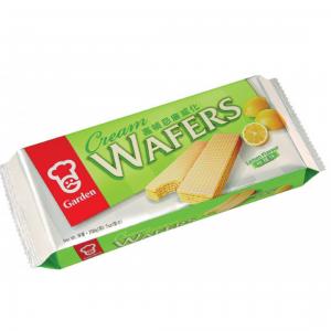 Garden Cream wafers lemon flavour