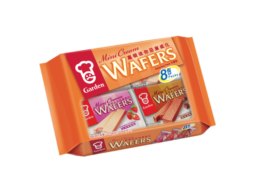 Mini wafels bonus pack