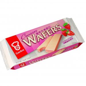 Garden Wafels met aardbeien smaak