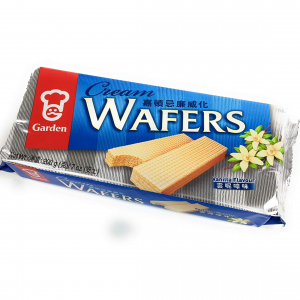 Garden Cream wafers vanilla flavour