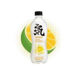 Genki Forest  Sparkling water citrus flavor
