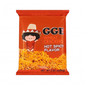 GGE Wheat cracker hot spicy flavor
