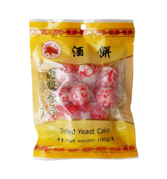 Golden Lily Gedroogde gist cake (金百合酒餅)