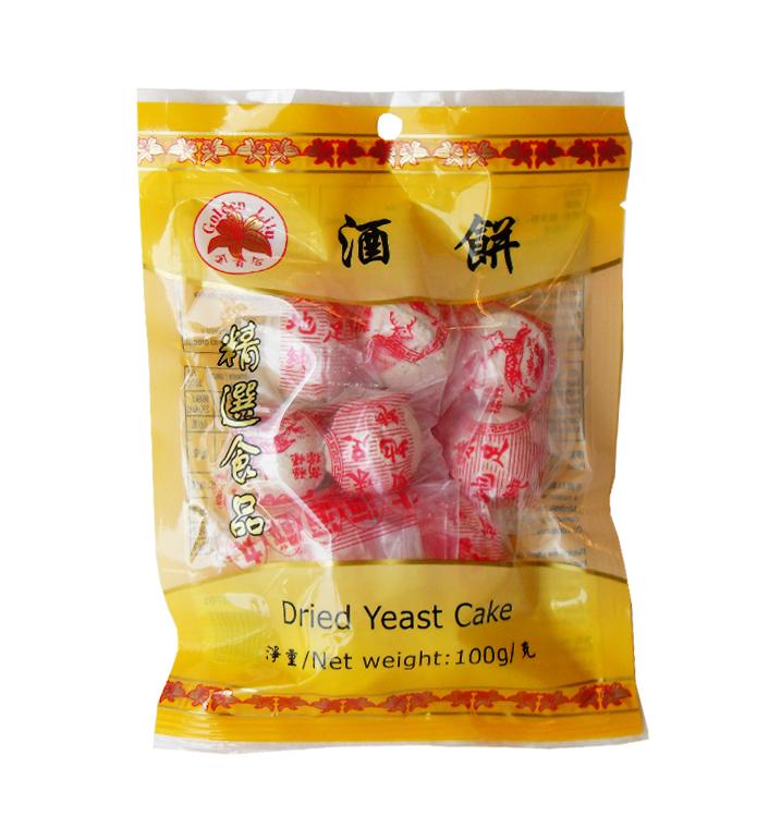 Gedroogde gist cake (金百合酒餅)