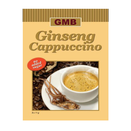 Instant ginseng cappuccino