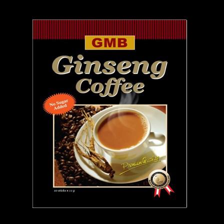 Instant ginseng koffie zonder suiker