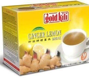 Gold Kili Instant gember drankje met citroen smaak (即溶檸檬薑晶)