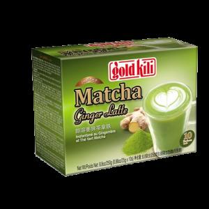 Gold Kili Matcha gember latte (即溶薑抹茶拿鐵)