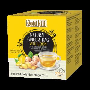 Gold Kili Natuurlijke gember thee met citroen smaak