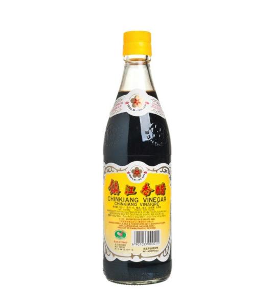Gold Plum Chinese zwarte azijn (金梅 鎮江香醋)