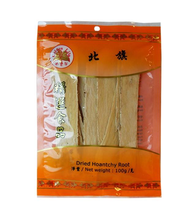 Gedroogde hoantchy wortel pak kei (北萁)