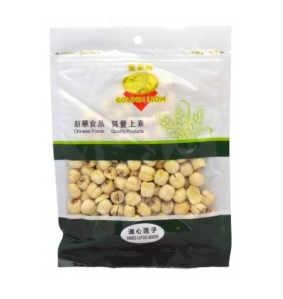 Golden Lion Dried lotus seeds (通心連子)