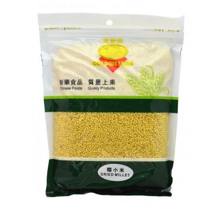 Dried millet (中國金獅牌糯小米)