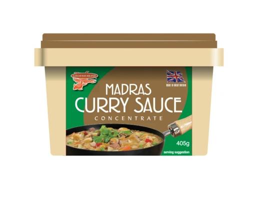 Madras curry saus