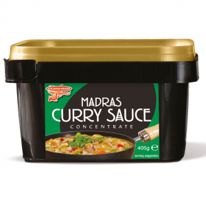 Goldfish Madras curry saus