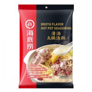 Hai Di Lao Soepbasis met bouillon smaak (海底捞清汤火锅汤料)