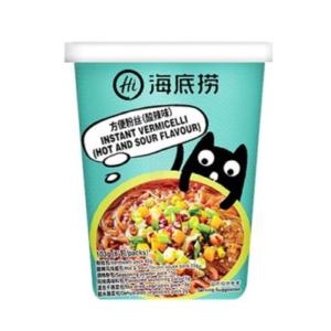 Hai Di Lao  Cup vermicelli hot & sour flavor (海底捞 方便粉丝酸辣味)