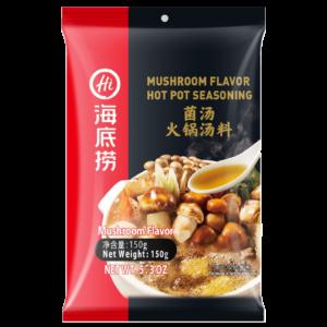 Hai Di lao Bouillon voor Chinees Fondue met paddenstoelen smaak (捞派菌汤火锅汤料)