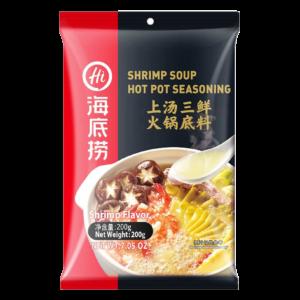 Hai Di Lao Fondue soepbasis met garnalen smaak (海底捞上汤三鲜汤底)