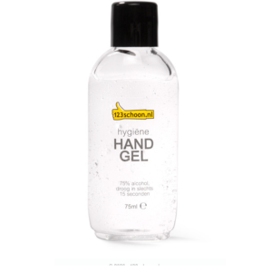 123 Handgel 75% alcohol