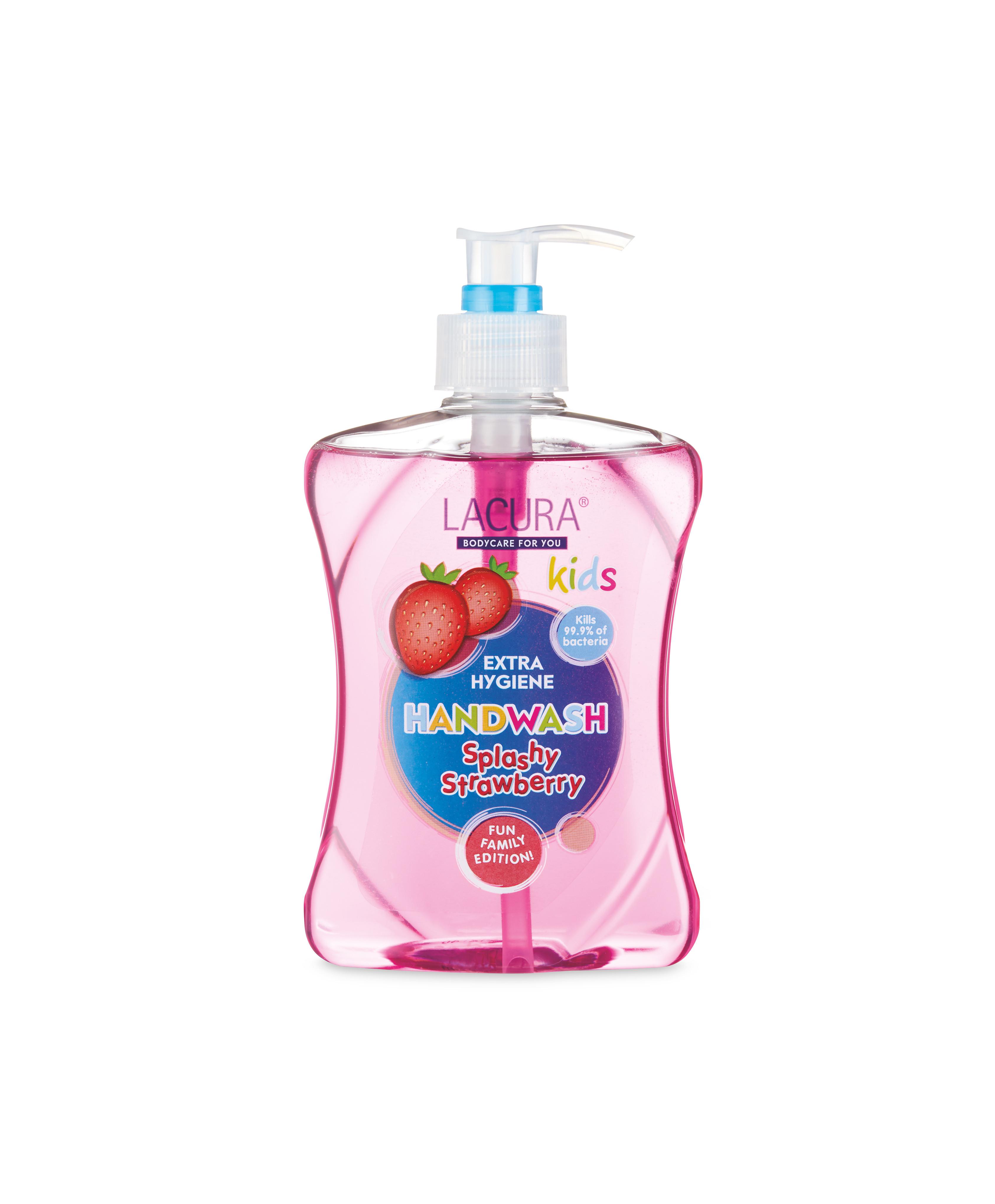 Handzeep aardbei geur extra hygiëne – antibacterieel (洗手液)