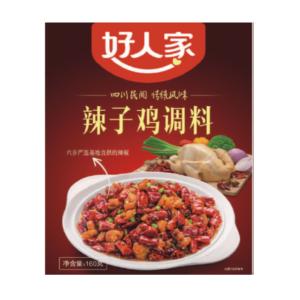 Hao Ren Jia  Spicy sauce for chicken (好人家辣子雞調料)